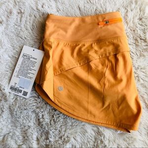 "Lululemon Speed Up Shorts 2.5"" Size 8"